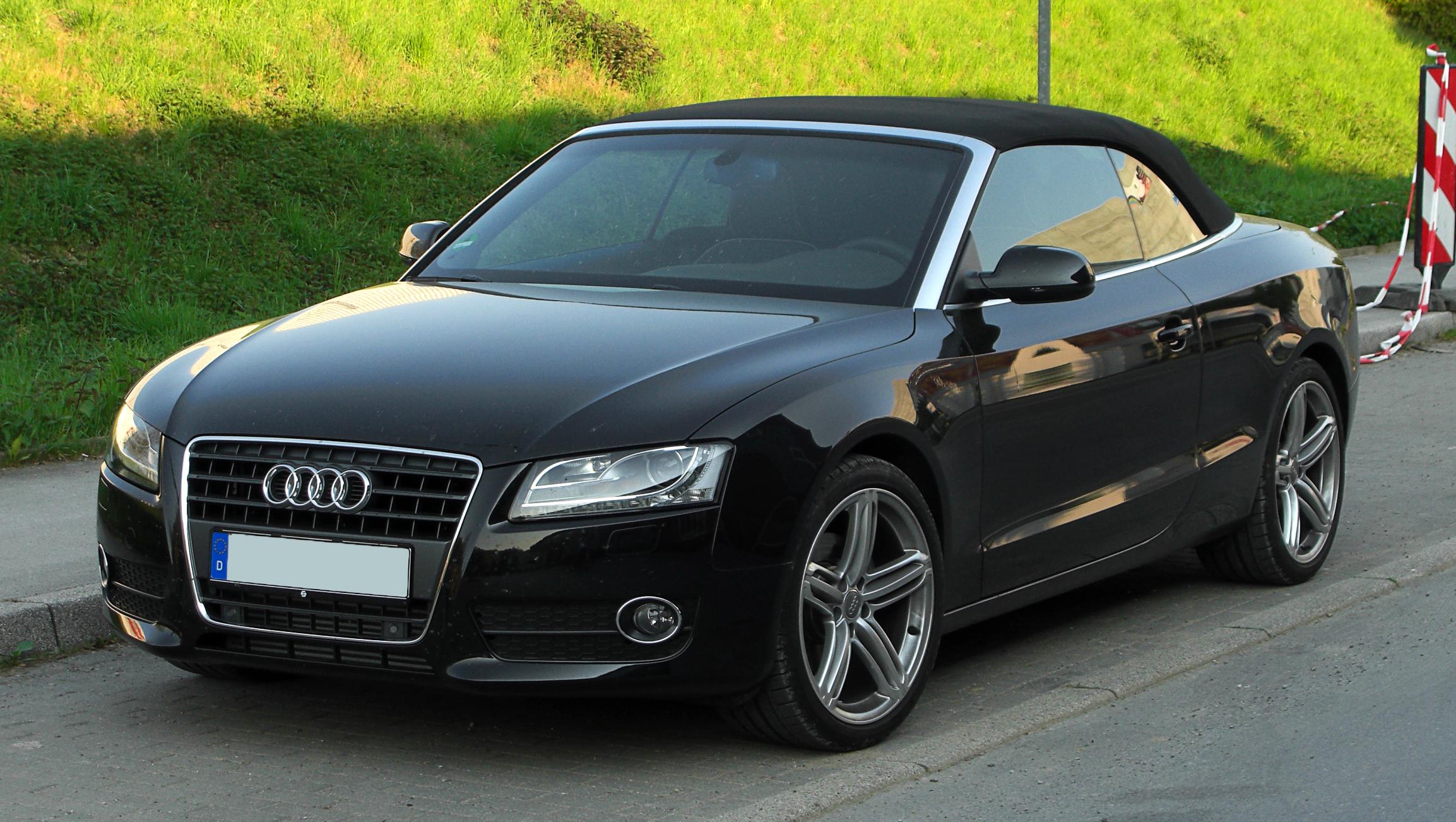 File Audi A5 Cabriolet Tfsi Frontansicht 18 April 2011