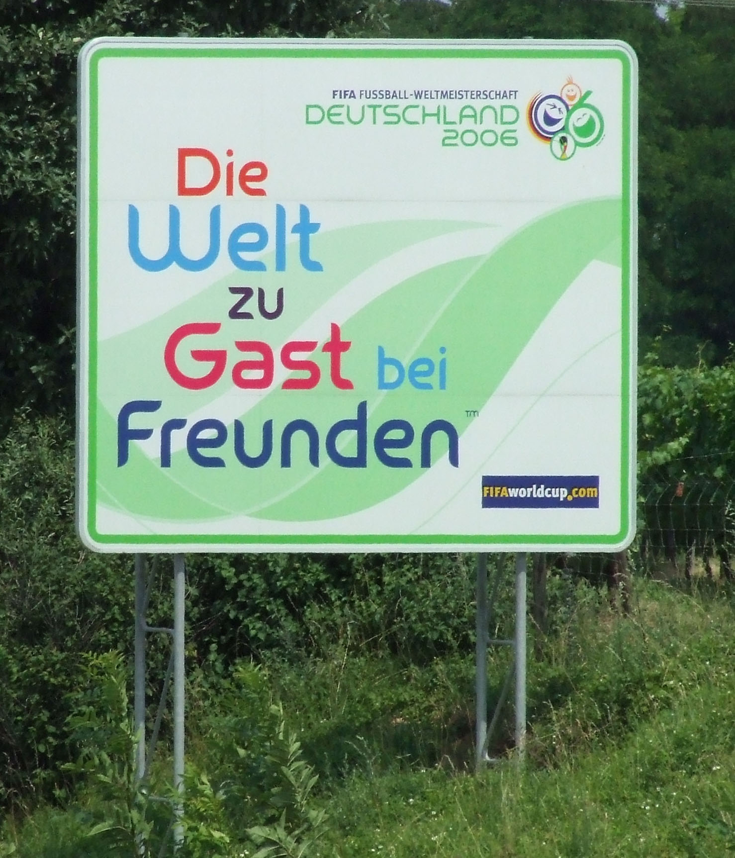 Image result for Die Welt zu Gast bei Freunden
