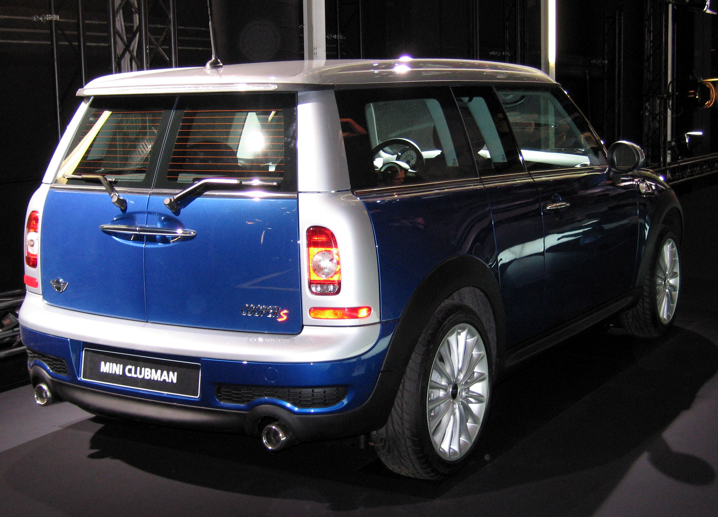 File Bmw Mini Cooper S Clubman Jpg Wikimedia Commons