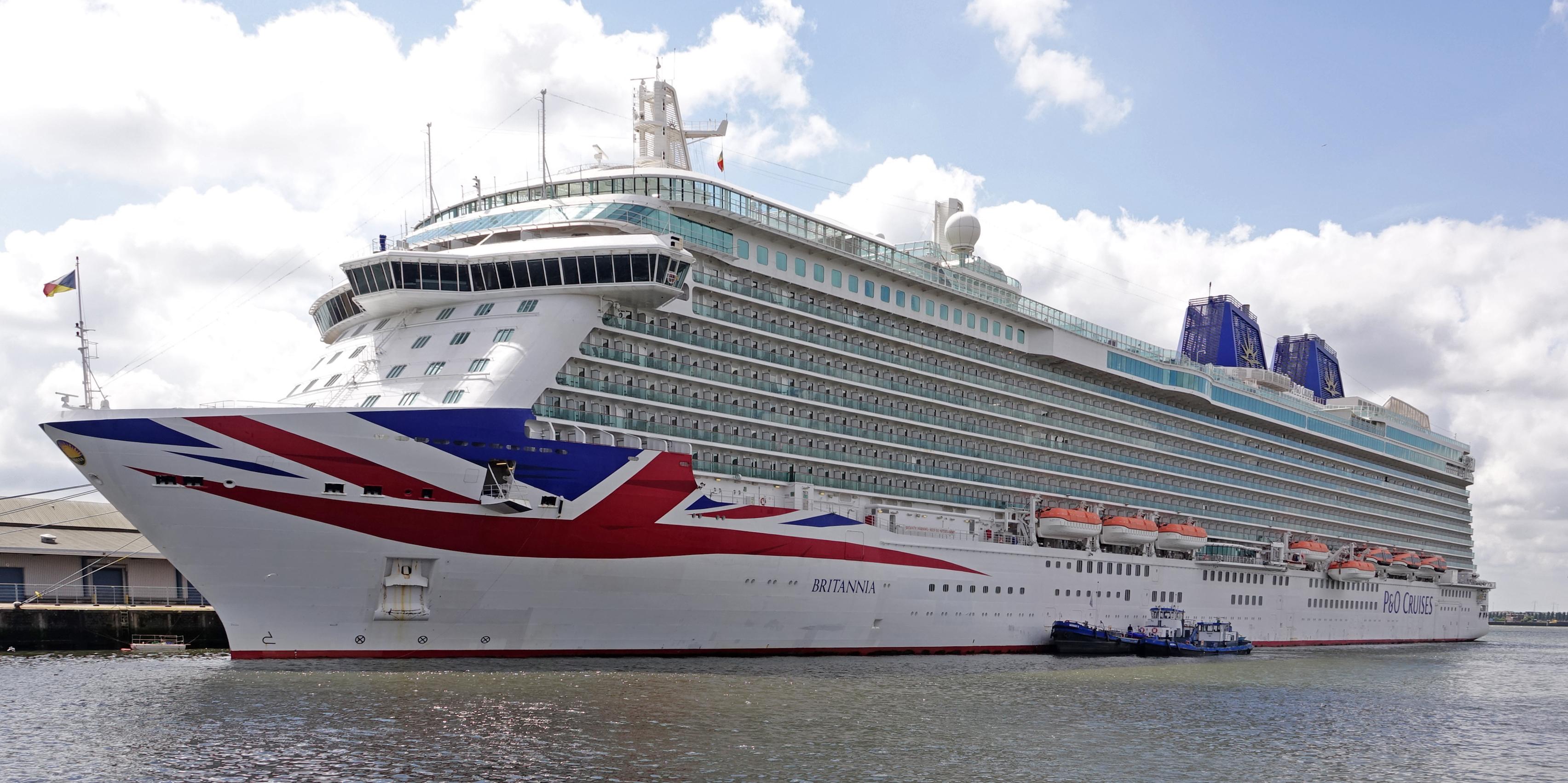 MV Britannia (2015) - Wikipedia