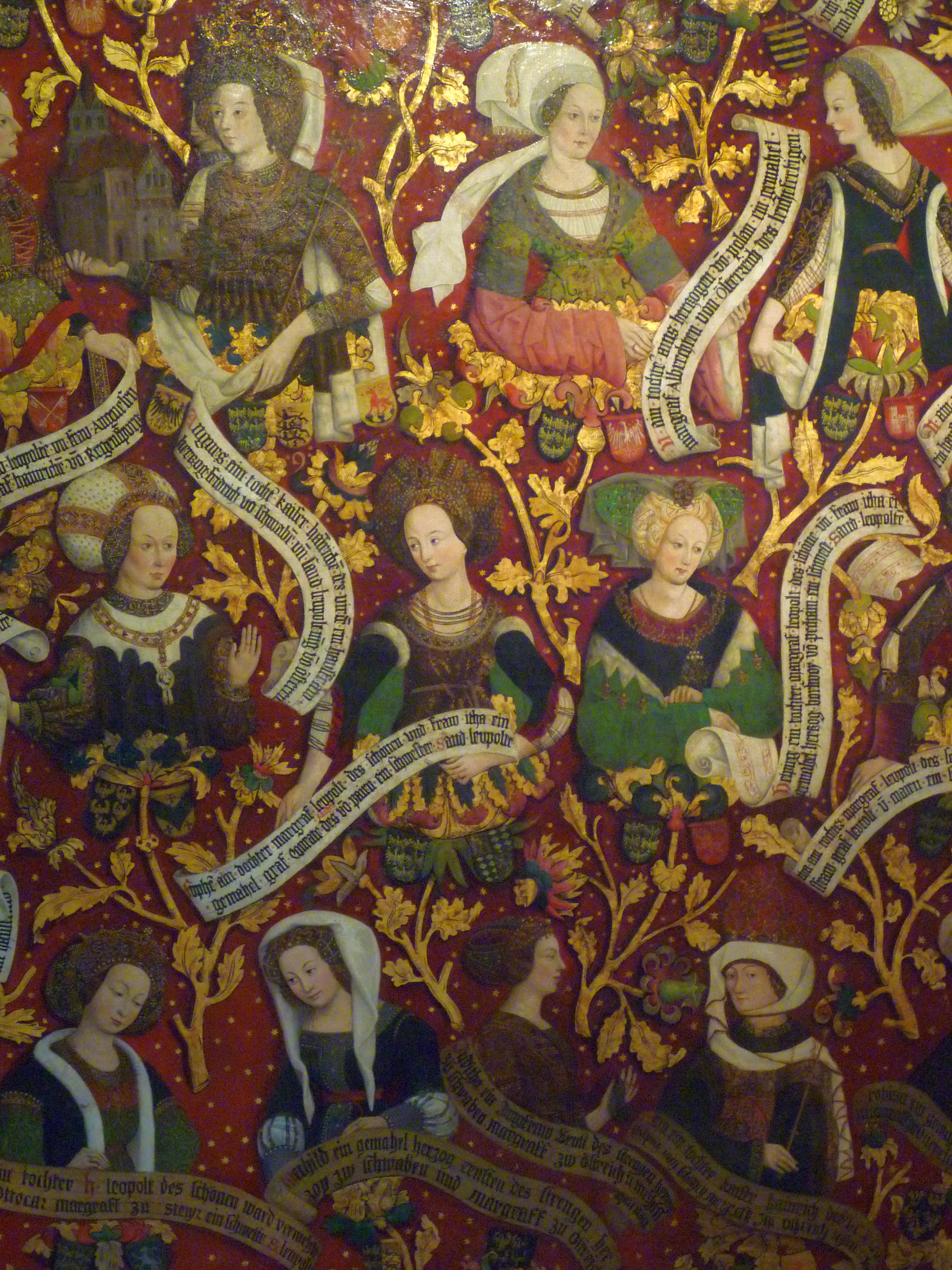 File:Babenberger Stammbaum Frauen.JPG - Wikimedia Commons