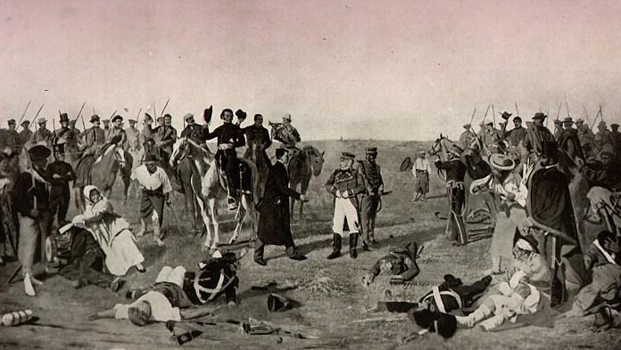 La Batalla de las Piedras -  Historia