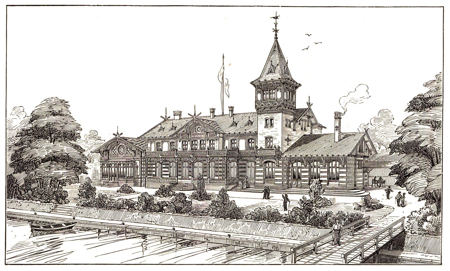 Ansicht um 1896