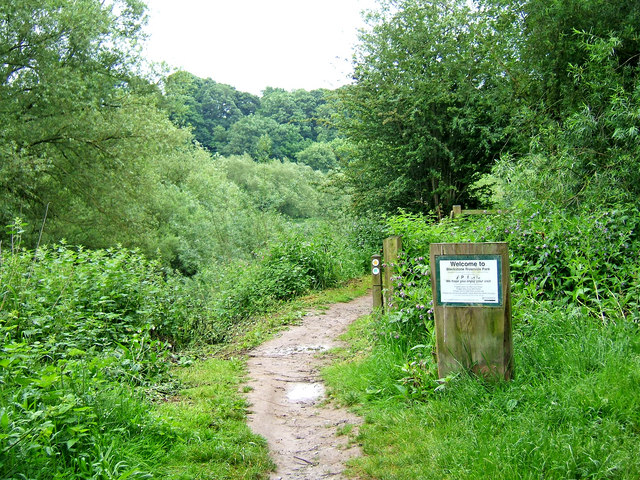Blackstone Riverside Park entrance - geograph.org.uk - 870701