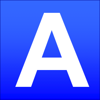File Blue Square A Png