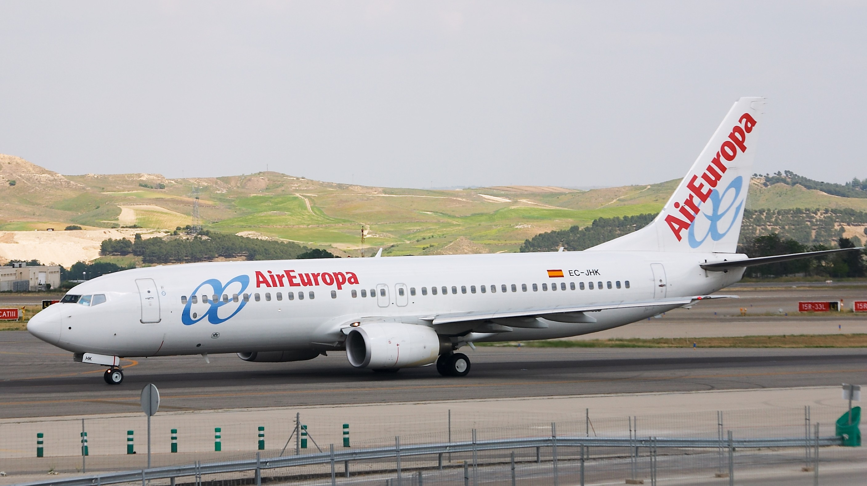 The airline Air Europe (Air Europa). Official sayt.2