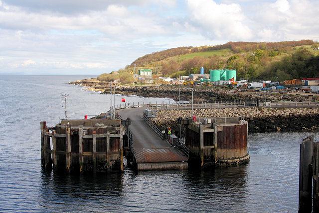 Brodick Ferry Terminal - geograph.org.uk - 811457
