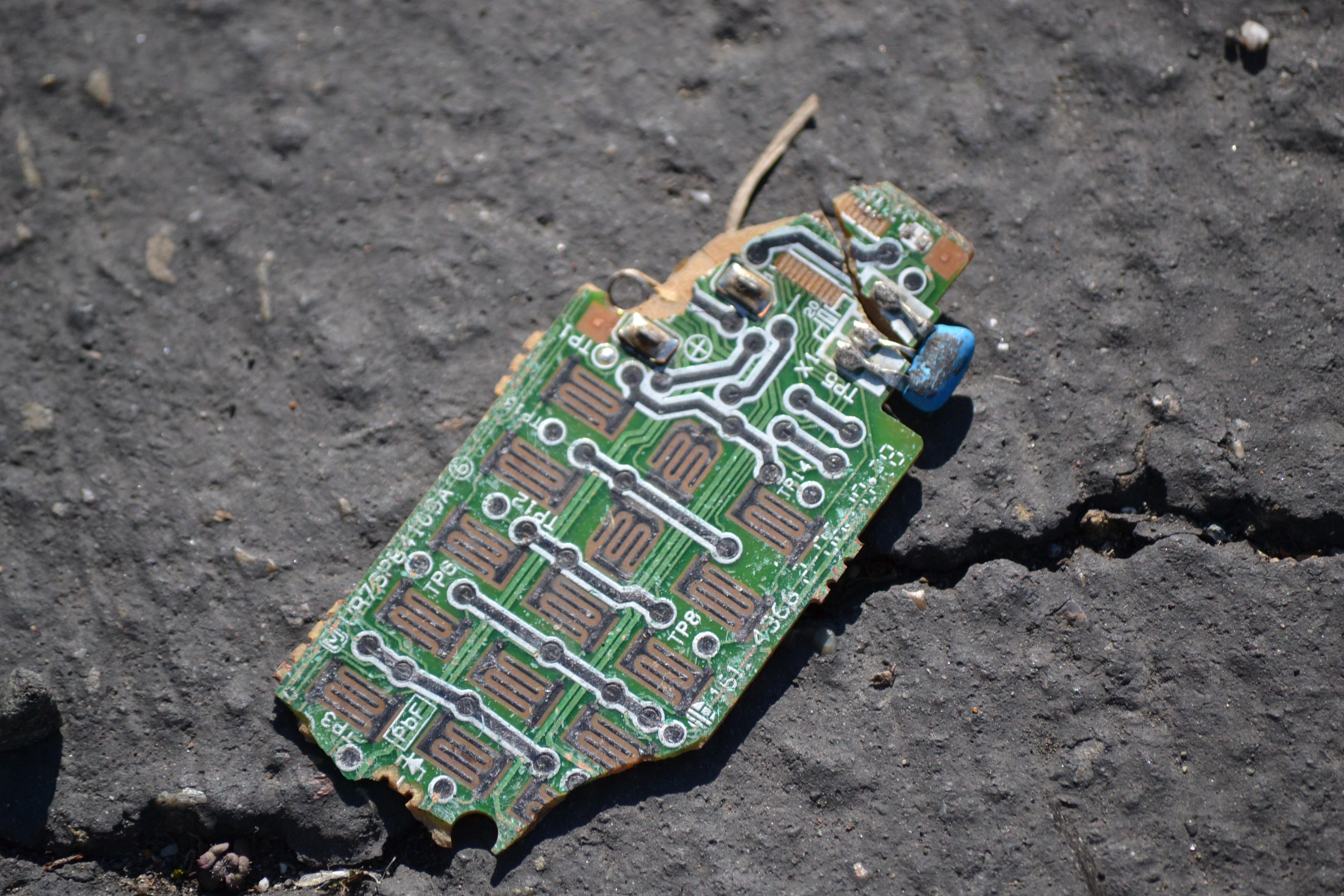 fragmentofdiscardedcircuitboard.