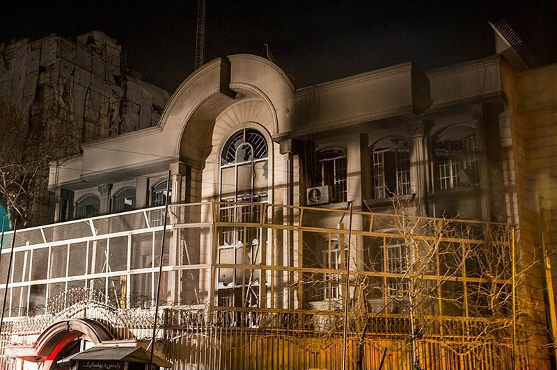 2016 attack on the saudi diplomatic missions in iran