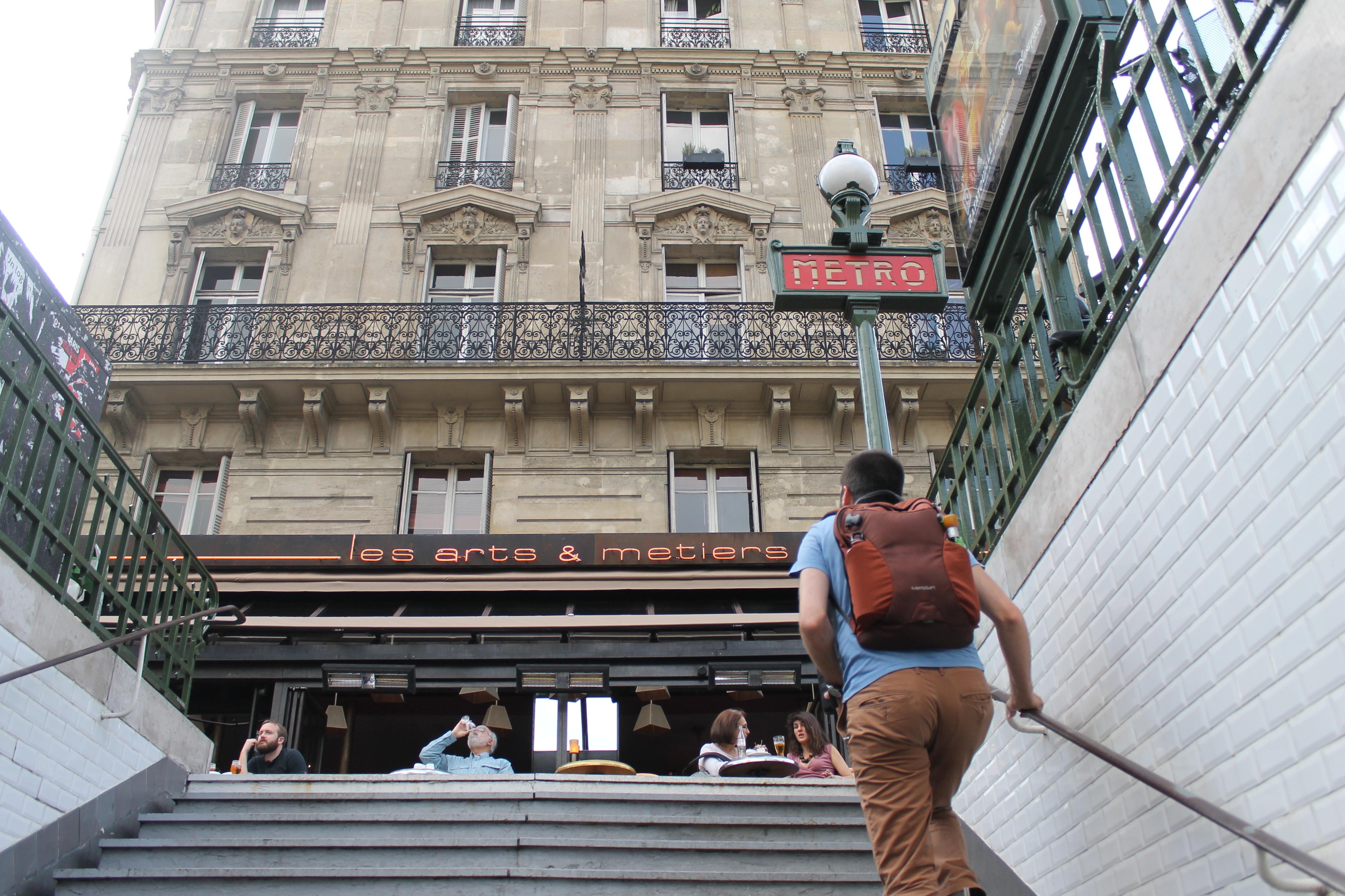 Caf Ef Bf Bd Des Arts Et M Ef Bf Bdtiers Rue De Turbigo Paris