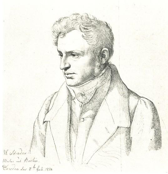 Carl Christian Vogel von Vogelstein - Wilhelm von Schadow