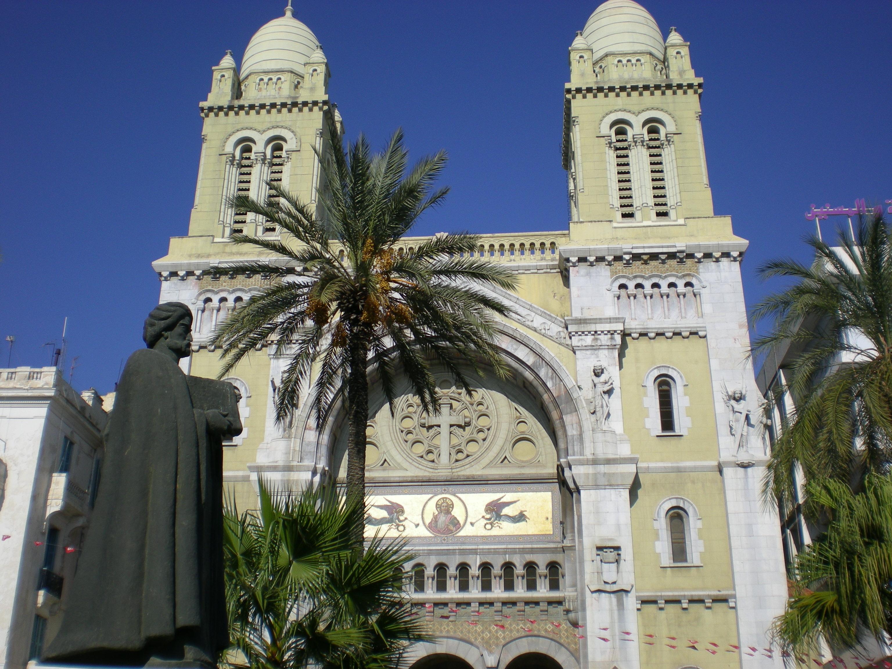 جولة في البلاد الجميلة تونس CathédraleSaintVinc