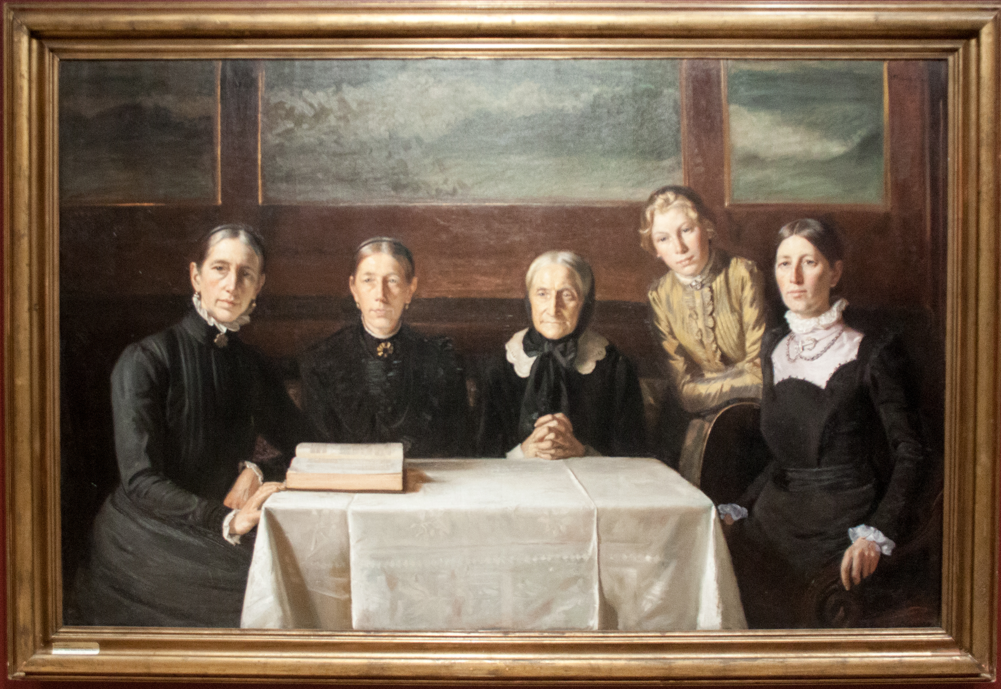 filechristmas day 1900 by michael ancher with framejpg - Michael Frame