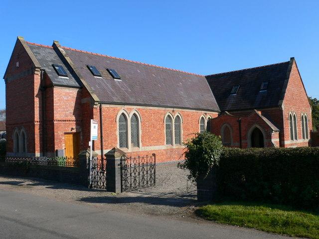 Former chapel near Whixall, Shropshire