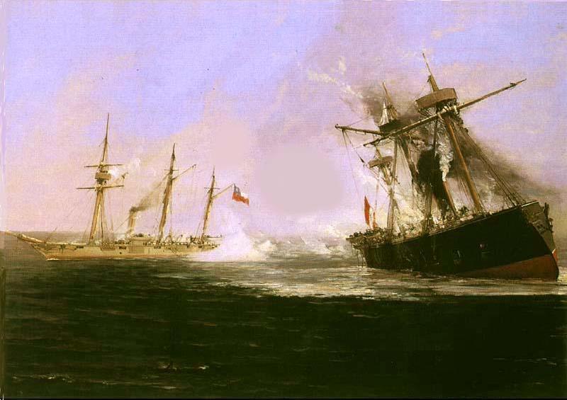 La guerra del Pacifico 1879-1884 Chile VS Peru y Bolivia