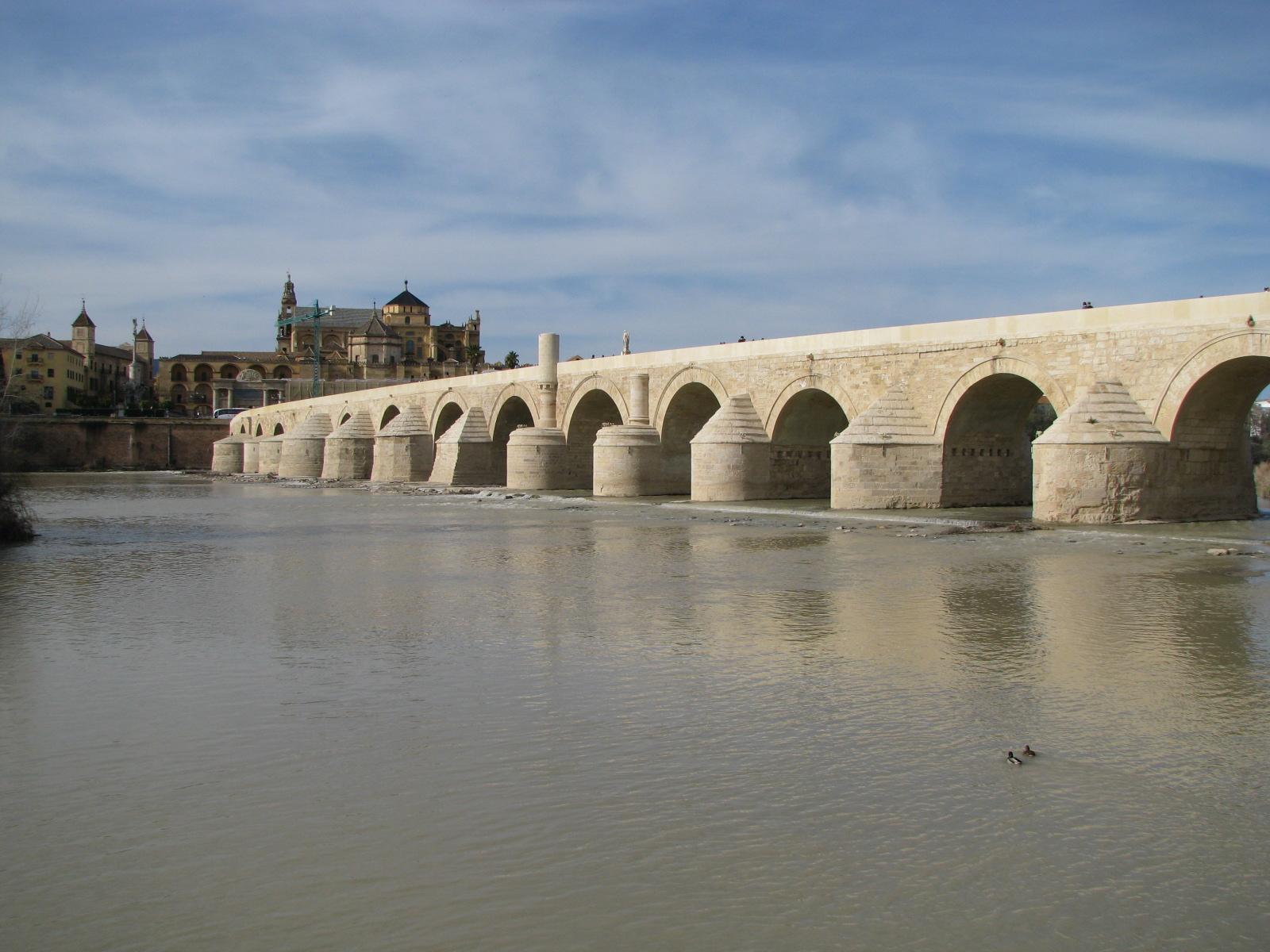Puente Romano de Córdoba (España).