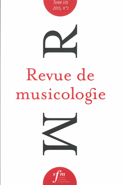 Image illustrative de l'article Revue de musicologie