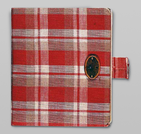 Cover of the diary of Anne Frank