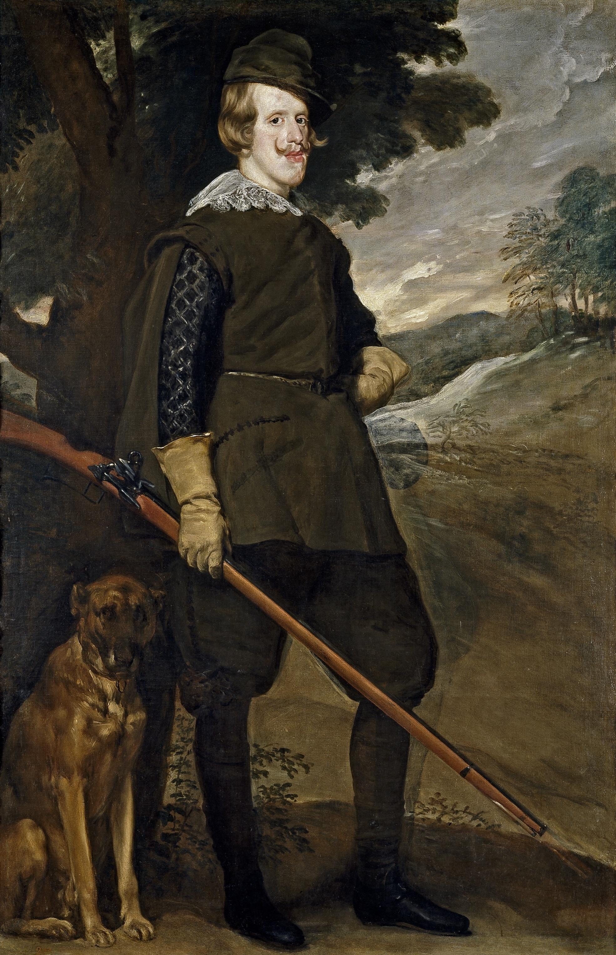 Felipe IV cazador - Wikipedia, la enciclopedia libre