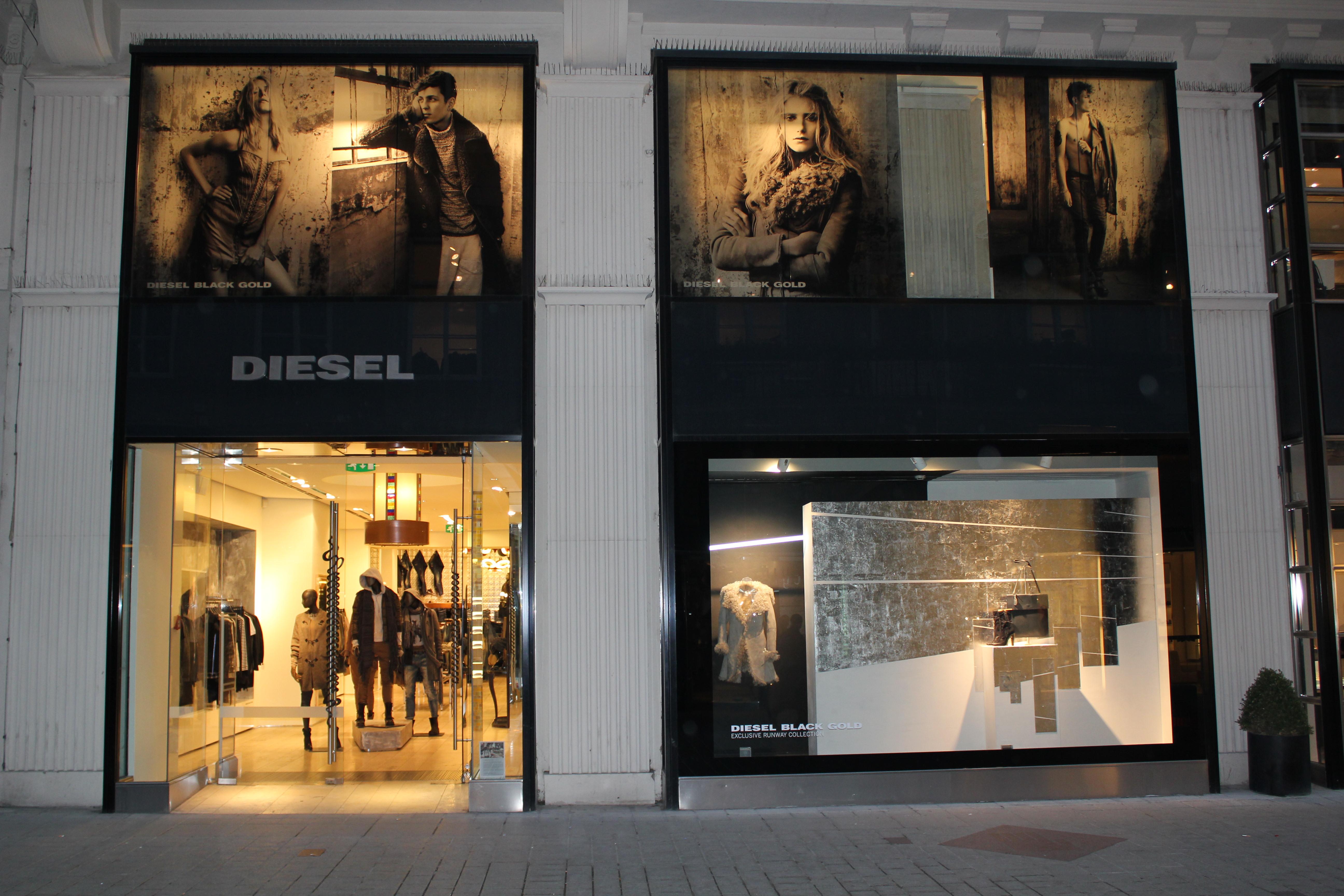 File:Diesel Black & Gold store in Vienna.jpg