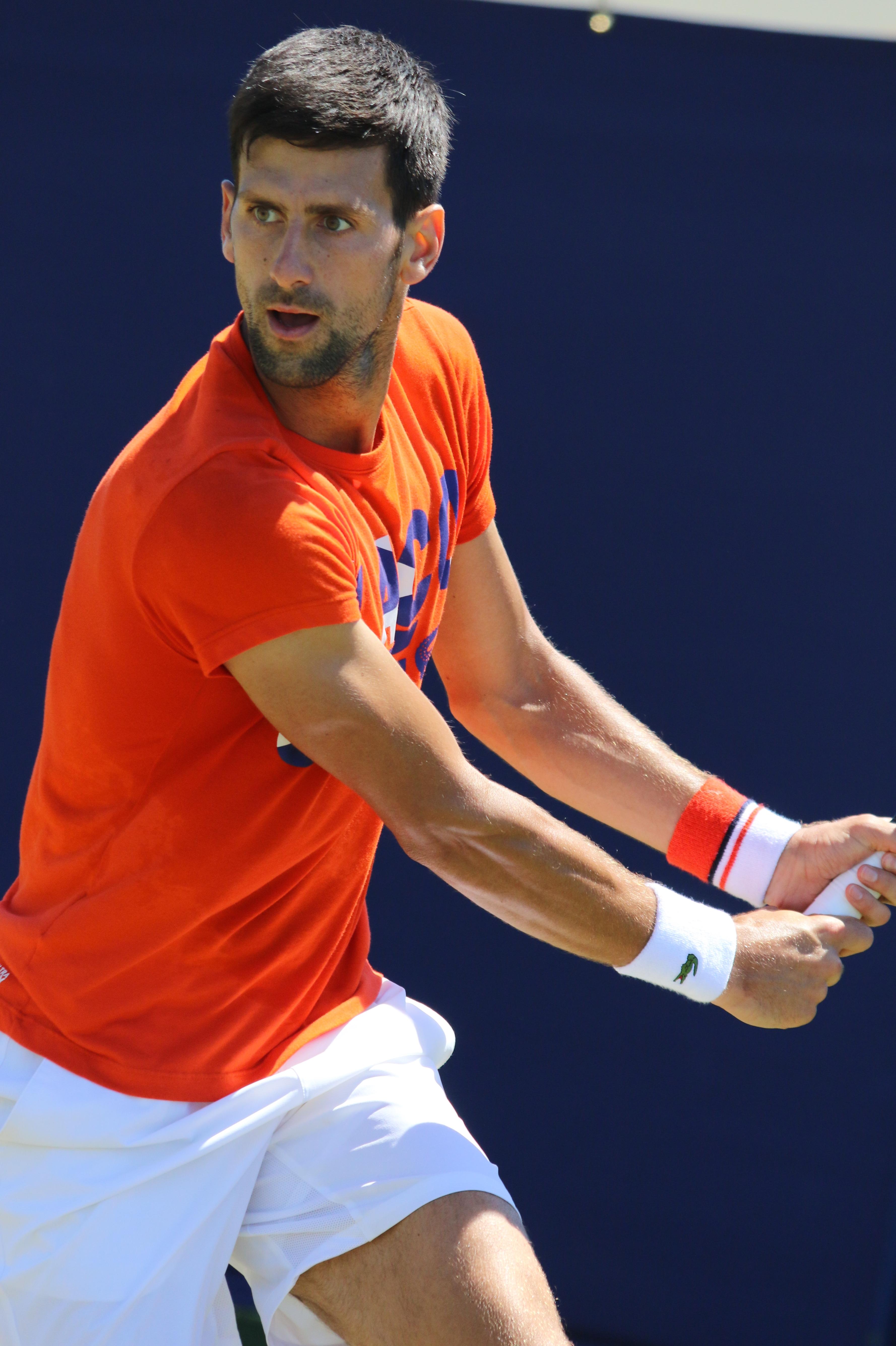Le scarpe di Djokovic Il Tennis italiano