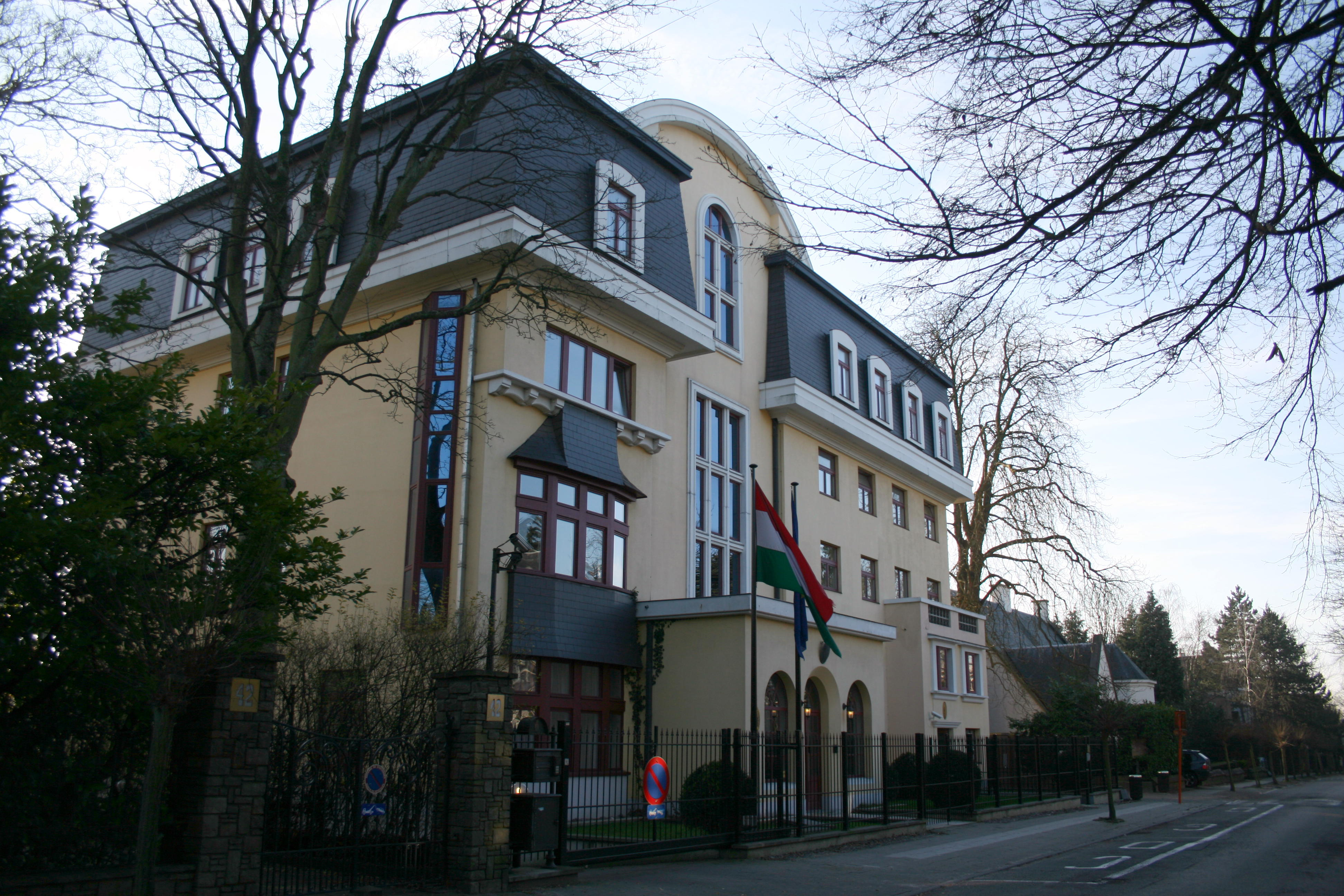 File Embassy Of Hungary In Brussels Jpg Wikimedia Commons