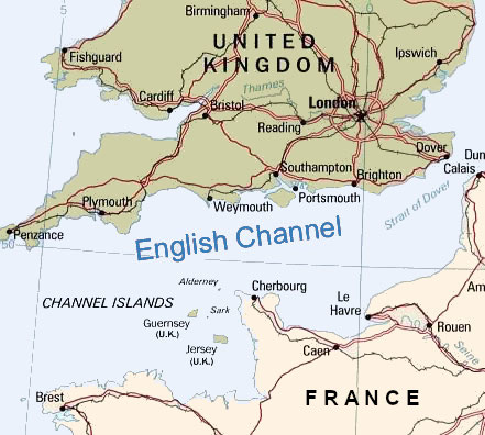English channel