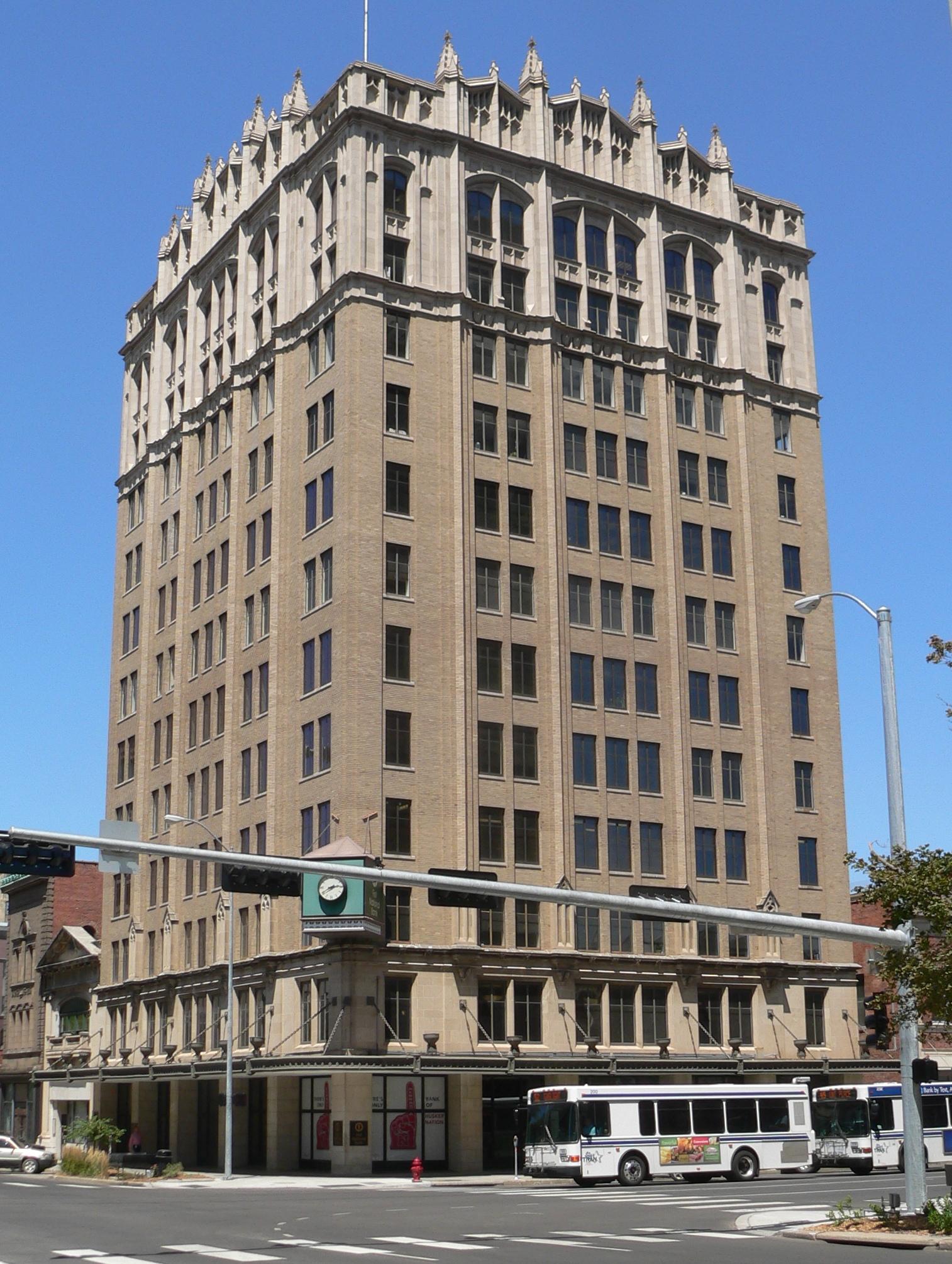 File Federal Trust Bldg Lincoln Nebraska From Sw 1 Jpg