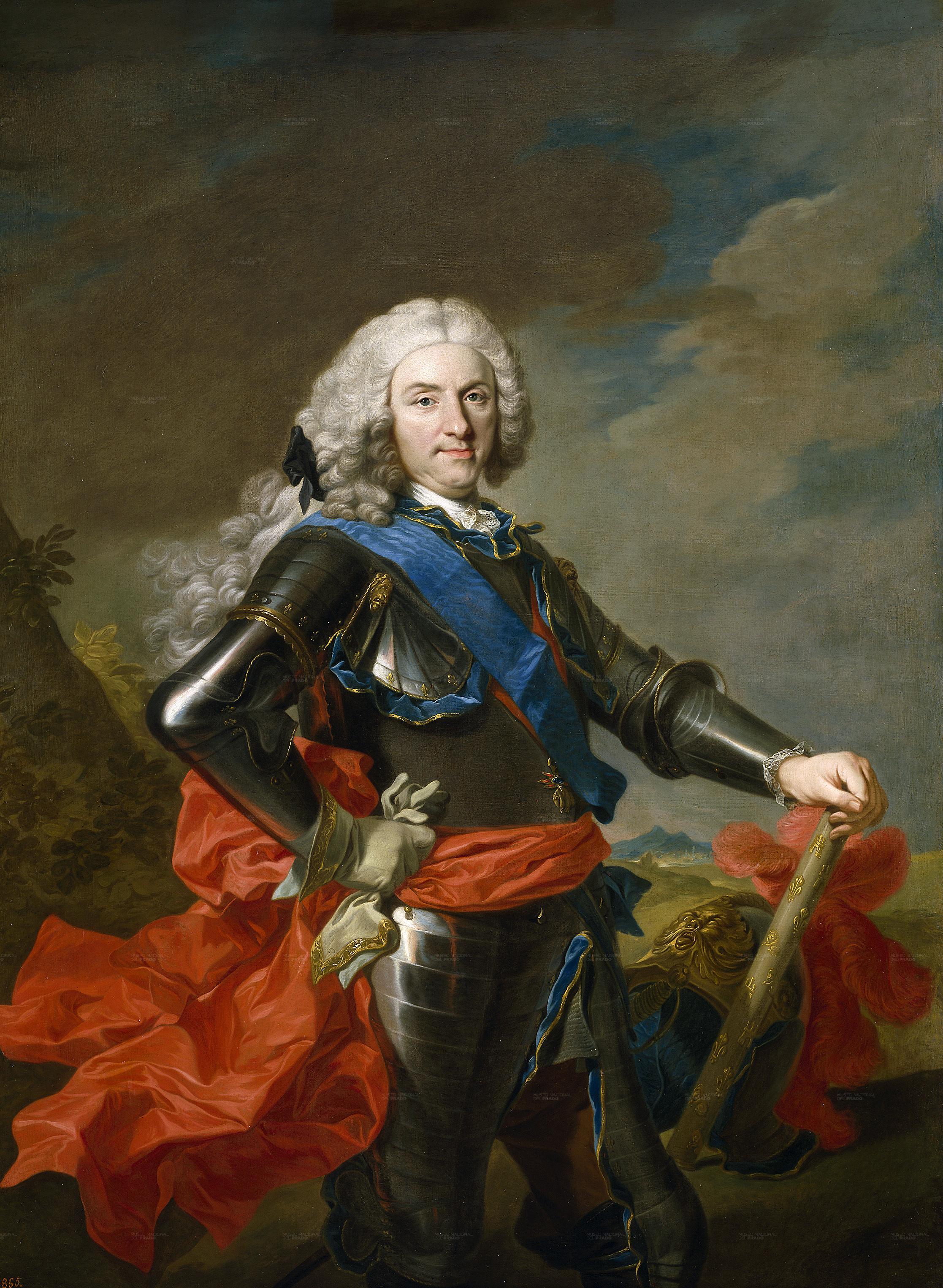 Felipe V por Louis-Michel van Loo