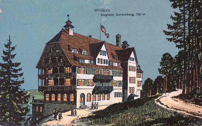 Bad Wildbad Hotel Uhlandshohe