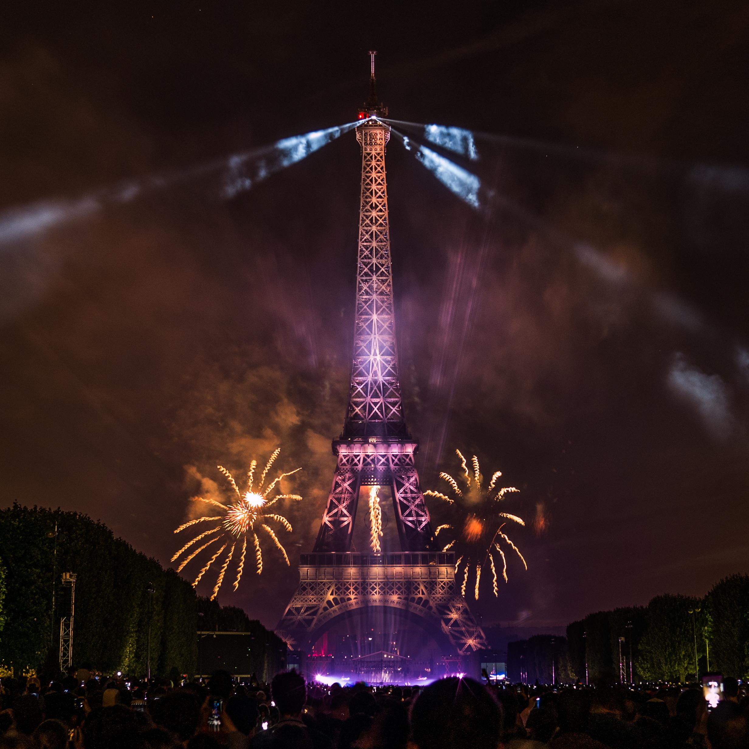 File:Feu Du0027artifice Du 14 Juillet 2017 Depuis Le Champ De Mars à Paris,  Devant La Tour Eiffel, Bastille Day 2017 (35118654323)