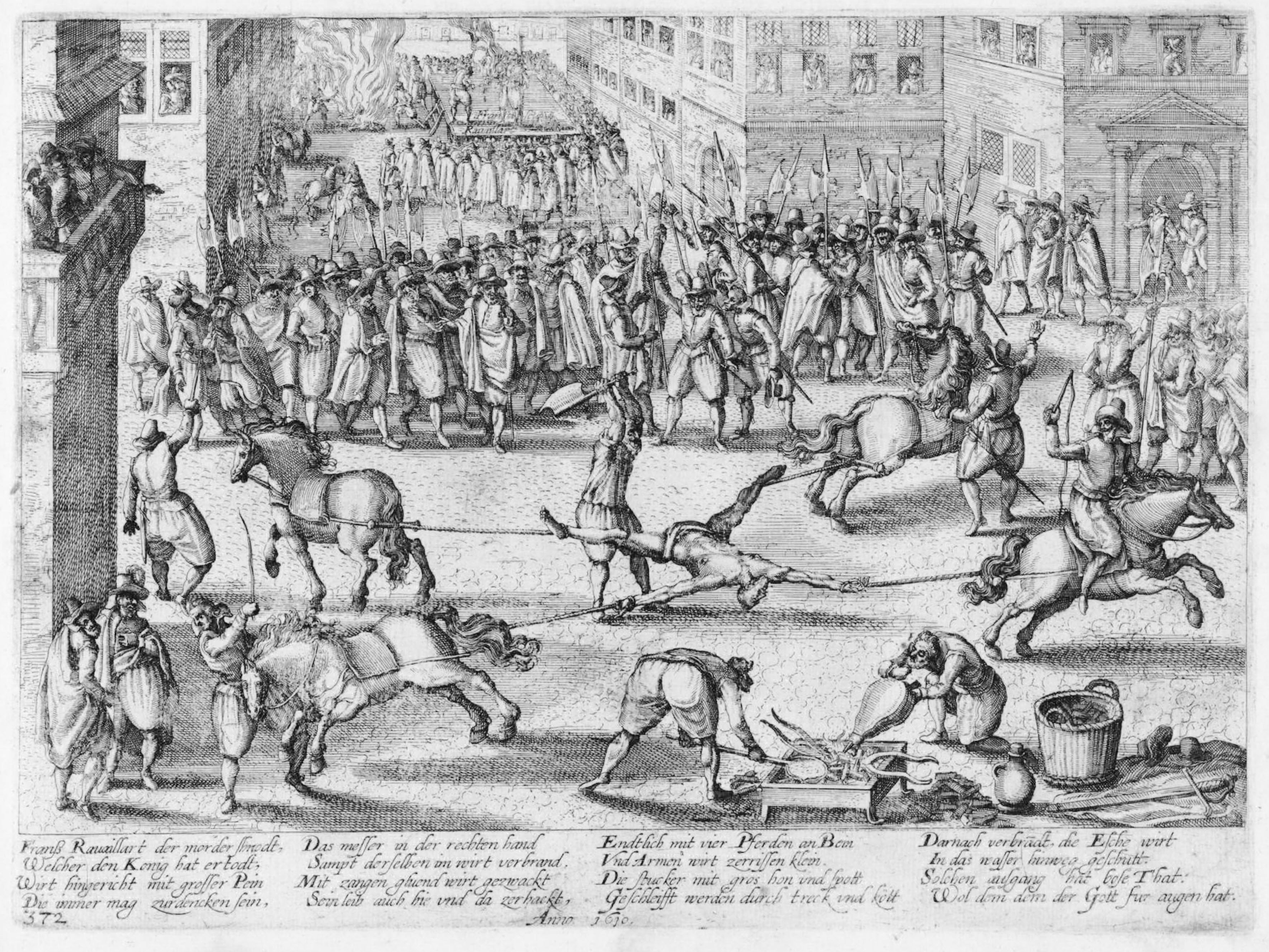 Franz Hogenberg Franss Rauaillart der morder shnodt 1610