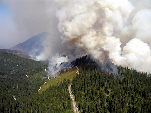 Image result for glacier national park wildfire