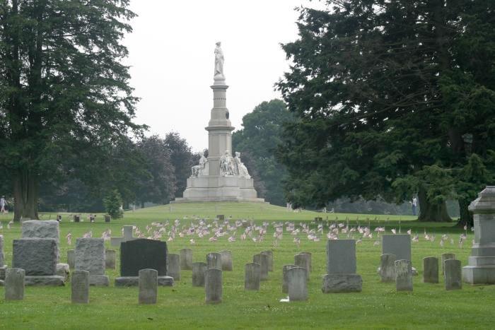Gettysburg National Cemetery - Wikipedia