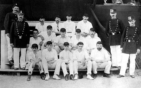 Great britain cricket team 1900