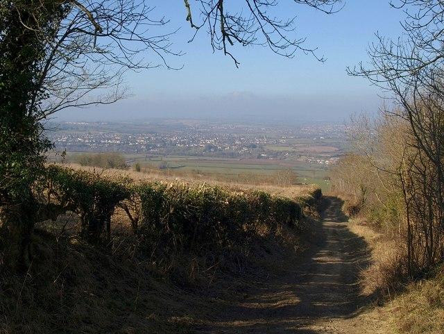 Green lane to Kelston - geograph.org.uk - 1754376
