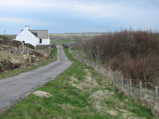 Grishipoll Farm and small wood - geograph.org.uk - 166406.jpg
