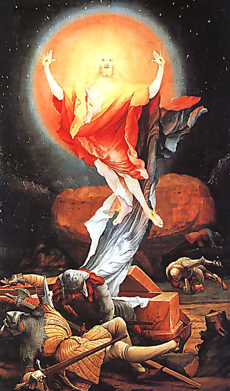 Resurrection from the Isenheim Altarpiece