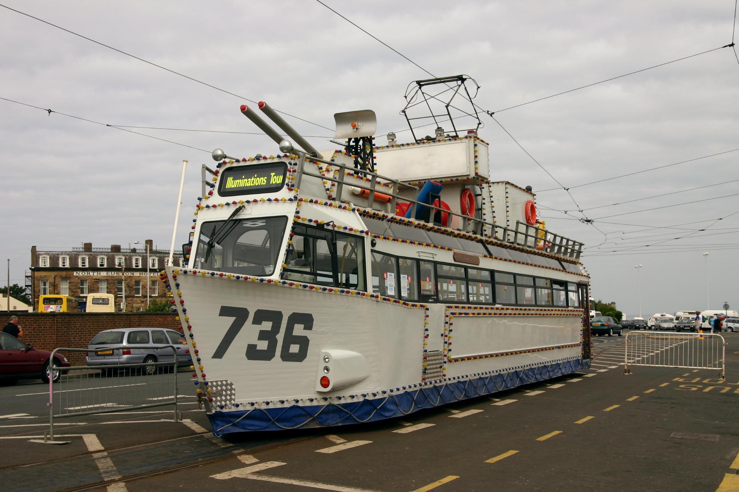 HMS Blackpool Heritage Tram