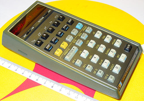 The HP-65, the first programmable pocket calculator