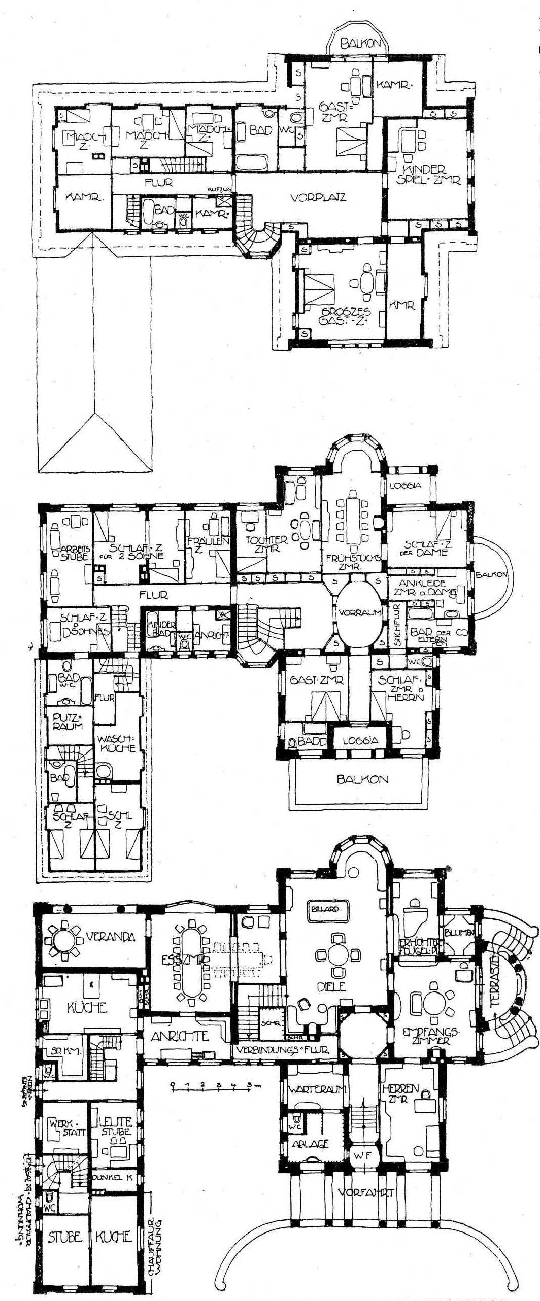 Grundriss villa  Villa Rümelin (Lerchenstraße 74) – Wikipedia