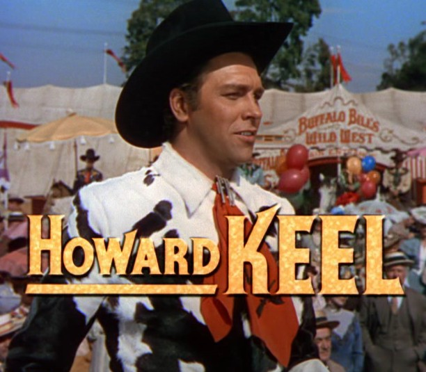 Howard Keel in Annie Get Your Gun trailer 2