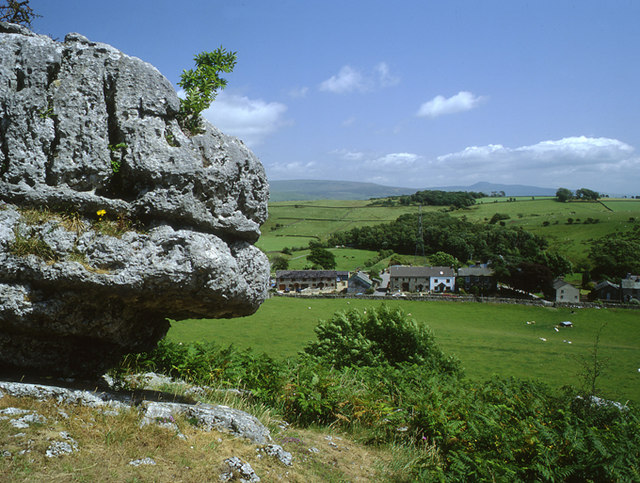 Hutton Roof from the Cuckoo Stone - geograph.org.uk - 1053112