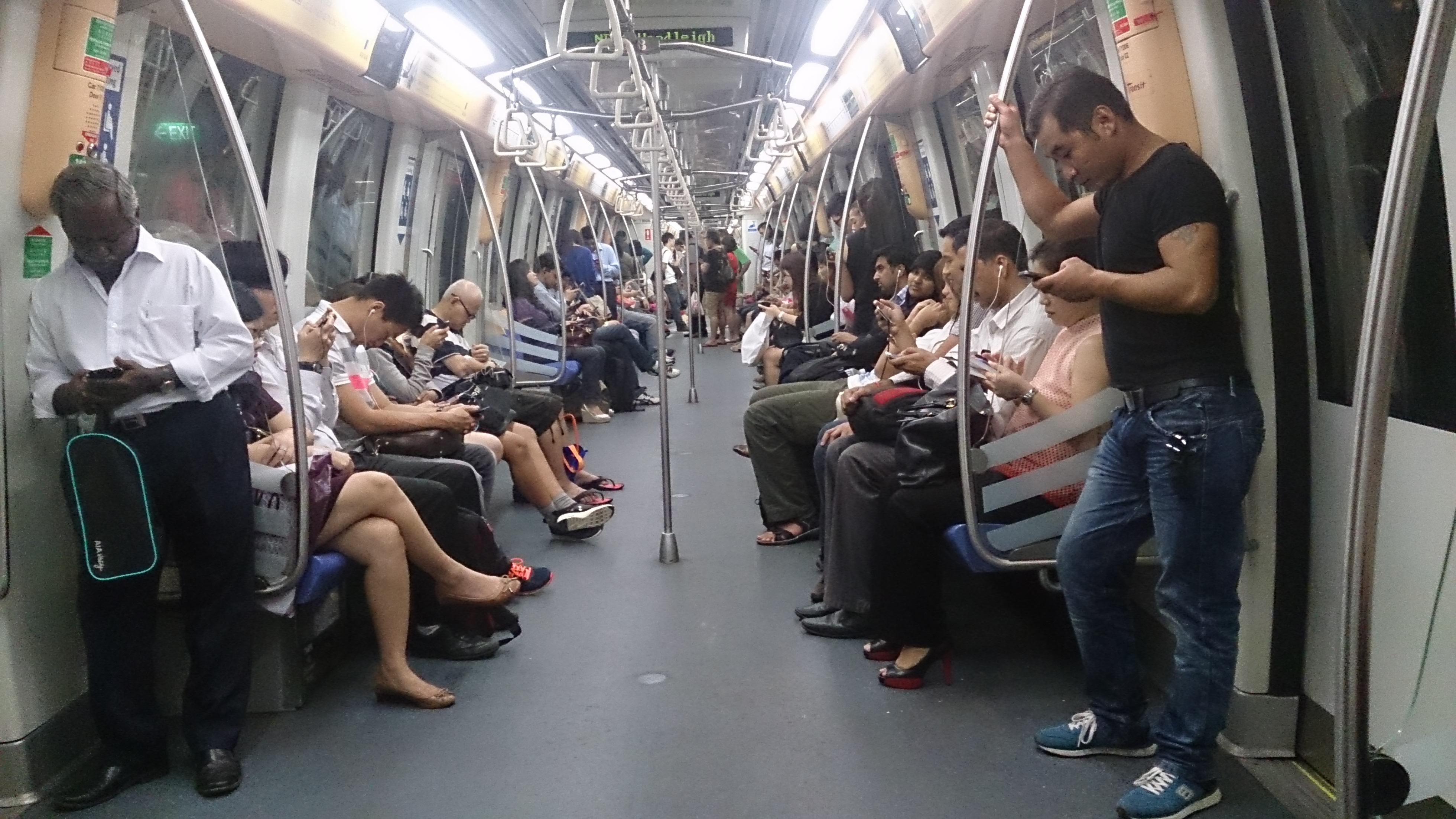 File Inside The Mrt Train Singapore Jpg Wikimedia Commons