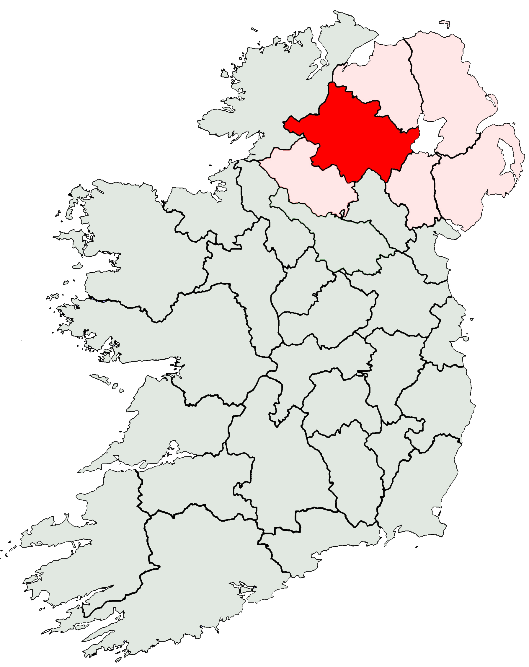 File ireland location wikimedia commons for Location b b france