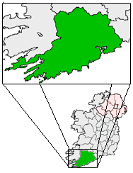 centerMap highlighting Cobh