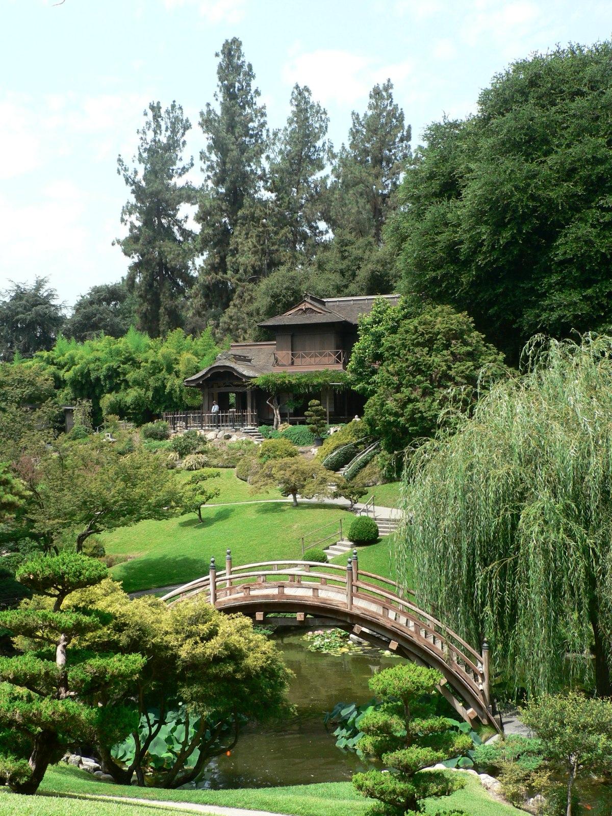 File:Japanese Garden At Huntington Library.jpg