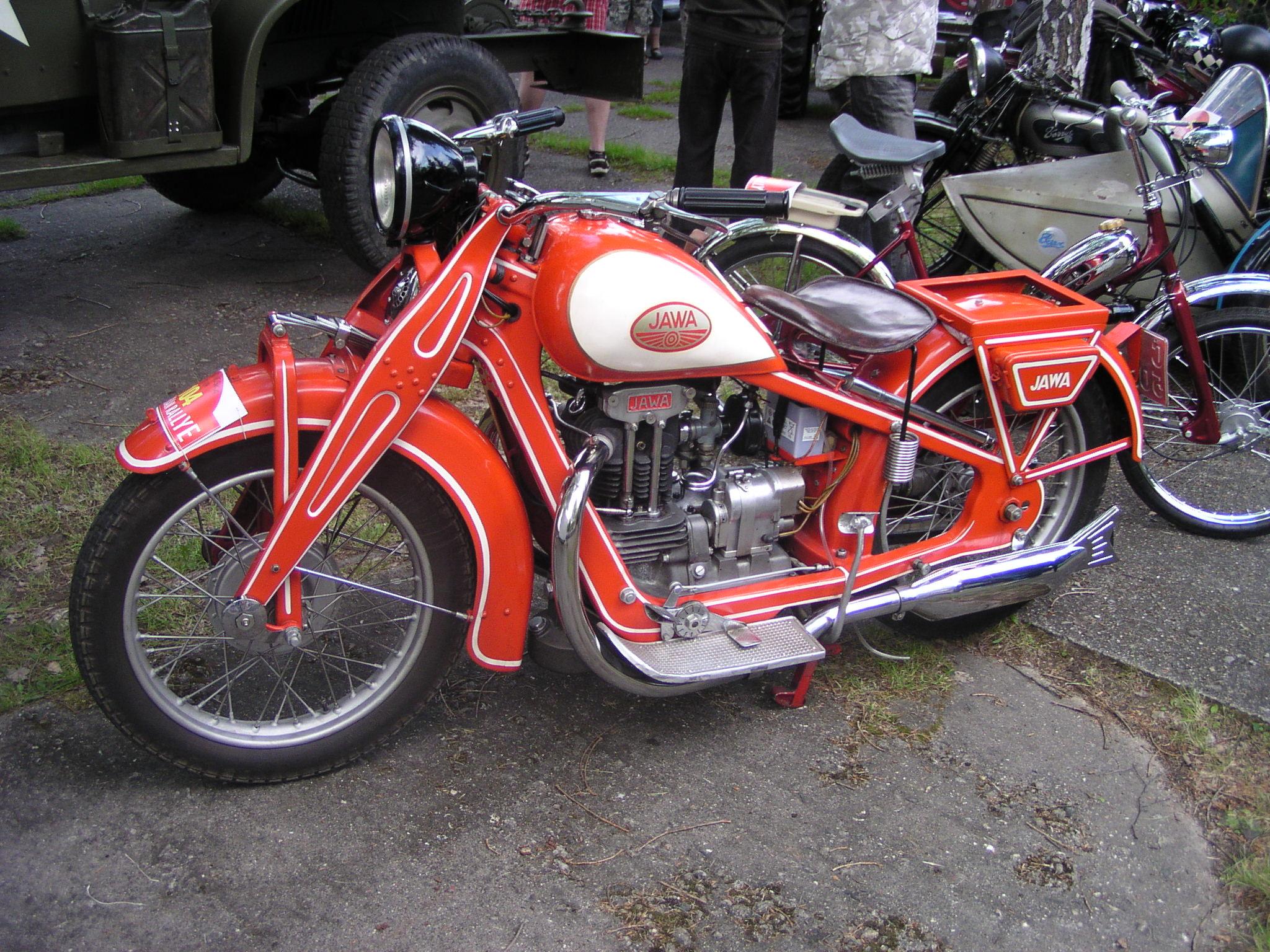 история создания Мотоцикла Ява #8