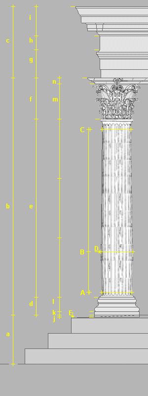corinthian columns diagram