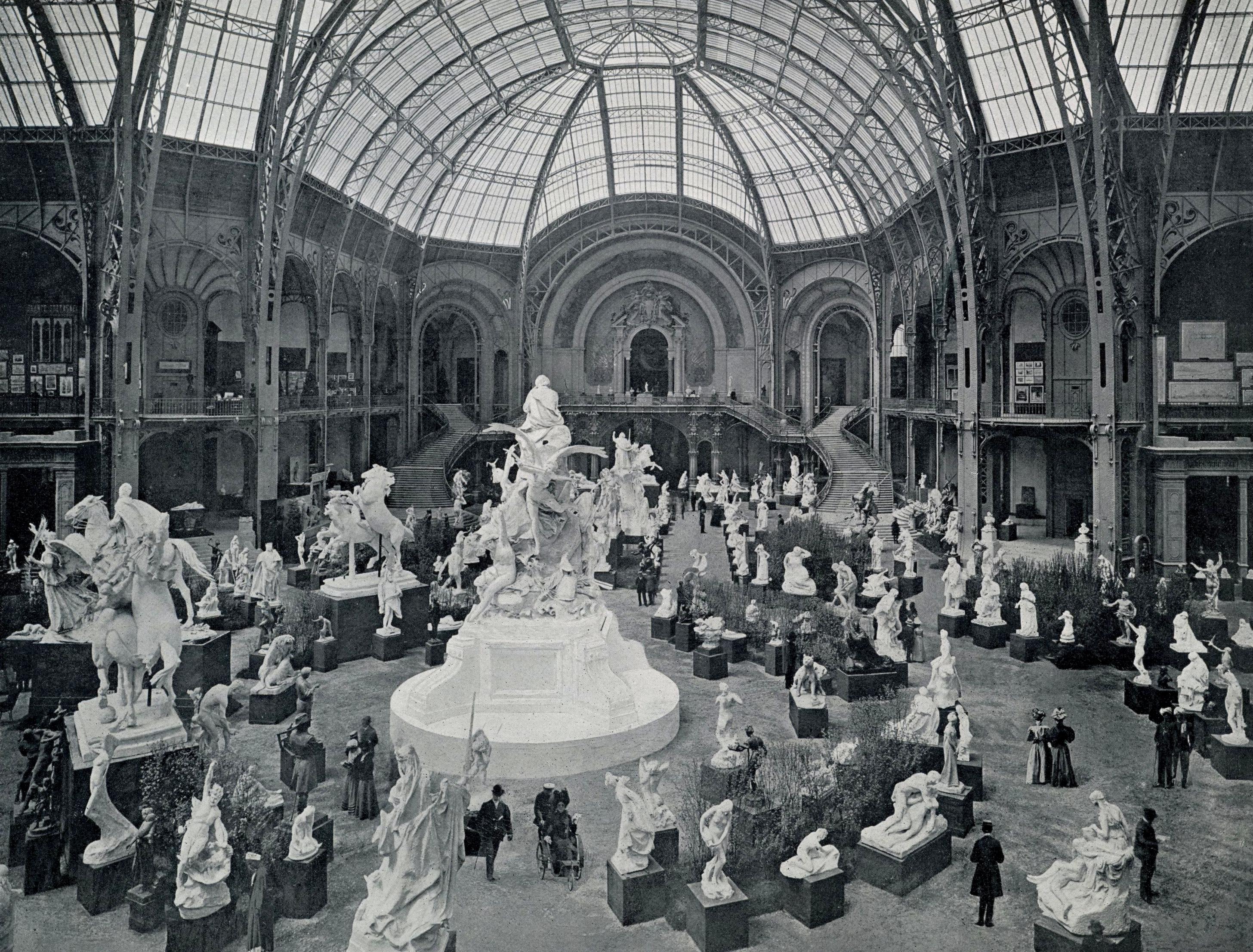 File le grand palais l 39 exposition de sculpture wikimedia commons - Exposition grand palais paris ...